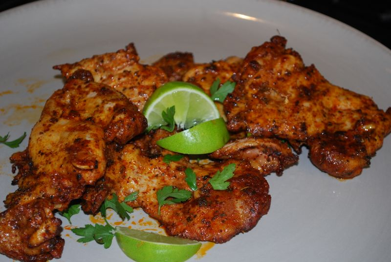 Spciy chicken wings